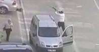 Komşu kızına dehşeti yaşattı: Üstüne araç sürdü, keserle yaralayıp rastgele ateş etti