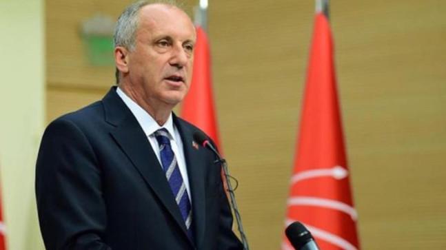 Muharrem İnce, yarın CHP'den istifasını açıklayacak
