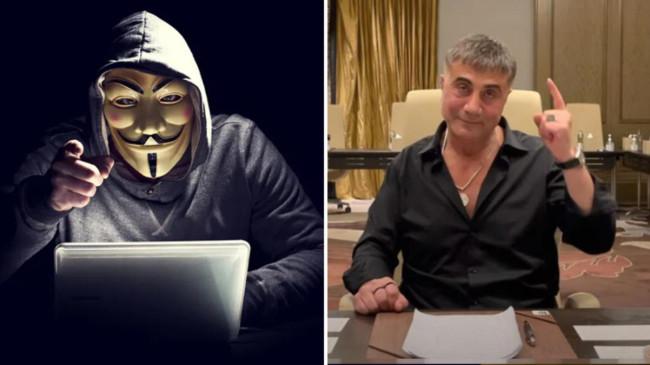 Ünlü hacker grubu Anonymous'tan Sedat Peker'e ağır sözler: Yürü git, faşist