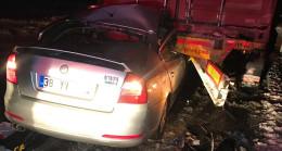 Konya'da otomobil TIR'la çarpıştı: 4 ölü, 2 yaralı