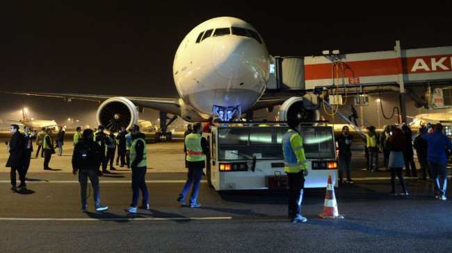 Atatürk Havalimanı'ndan son uçuş