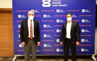 BEBKA Genel Sekreteri Durak'tan EOSB Başkanı Küpeli'ye ziyaret